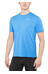 Nike Dri-FIT Contour SS Shirt Men lt photo blue/reflective silver